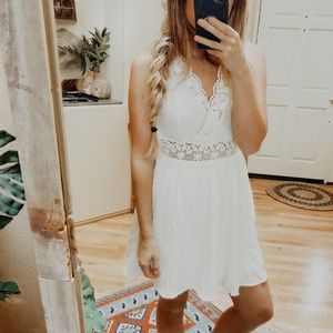 NWT Urban Outfitters White Lace Dress